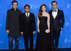 ar rahman was in Berlin for the premiere for the Hindi language film Highway