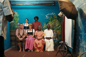 A documentary about the cross cultural marriage of a German woman and a Tamil man.