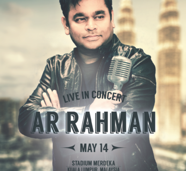 AR Rahman will perform his first Tamil concert outside of India. Malaysia are you ready fro AR Rahman?