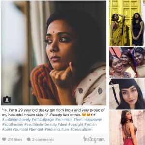 social campaign celebrates dark skin