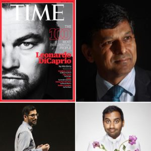 Three Tamils feature in the 2016 Time's 100 list of influential people