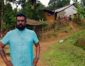 British Comedian Romesh Ranganthan prepares for the second series of Asian Provocateur on BBC 3