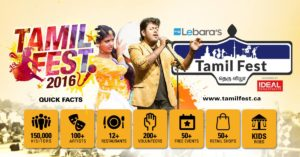 over 150,000 to attend Tamil fest in Toronto, Canada