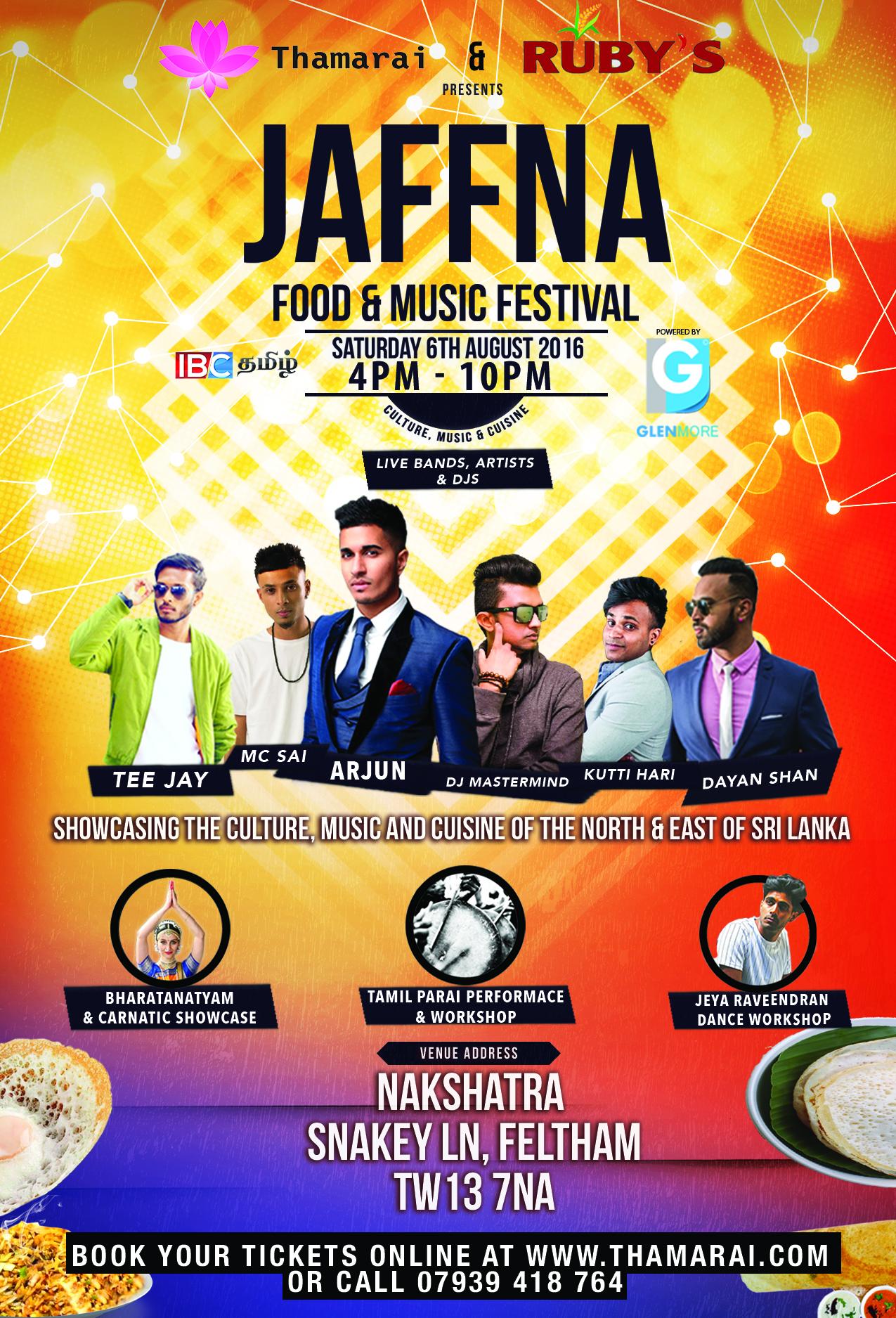 Jaffna food & music festival