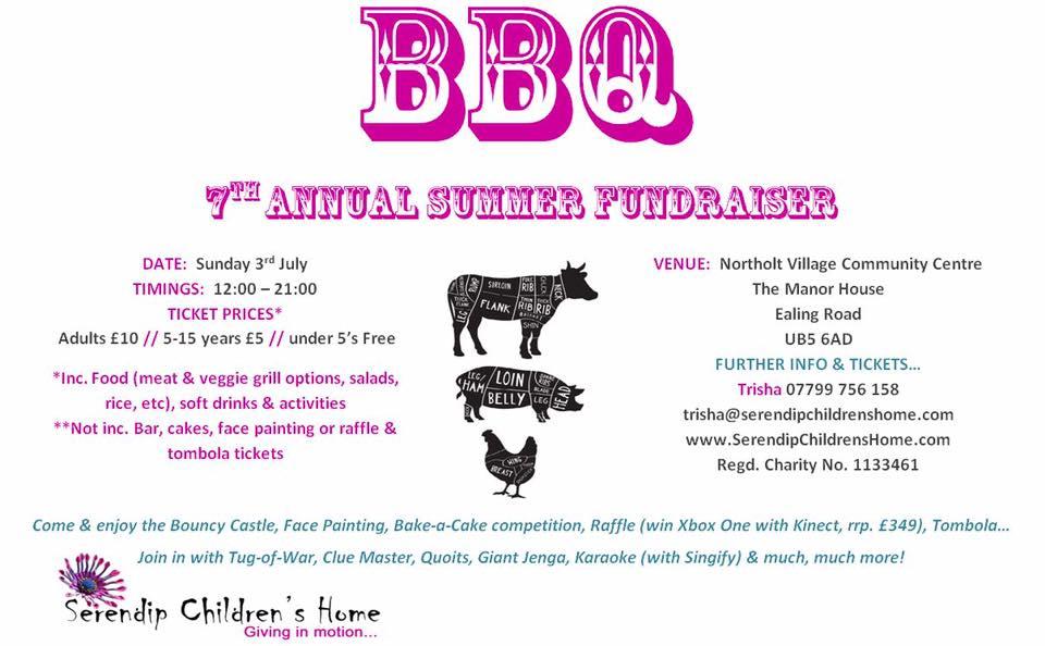 Serendip's Annual Summer BBQ fundraiser