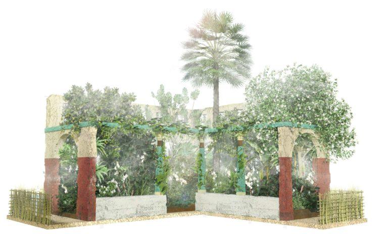 Tamil kitchen garden at the 2016 Chelsea flower show