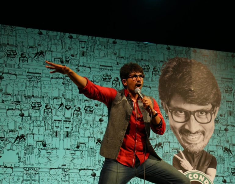 Karthik Kumar uk comedy tour