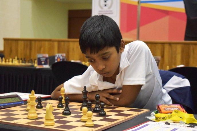 praggnavanandhaa international chess master
