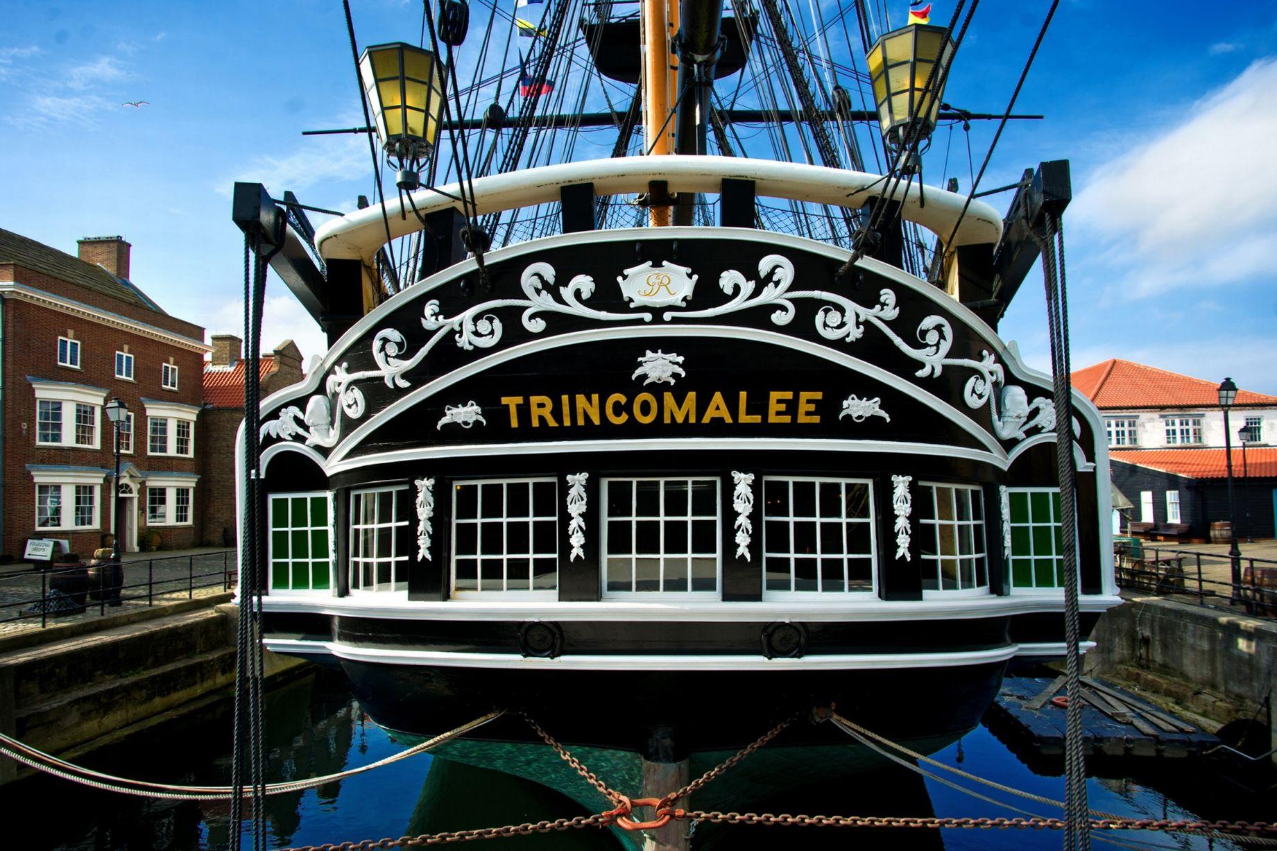 Hms Trincomalee Bicentenary Celebrations Thamarai