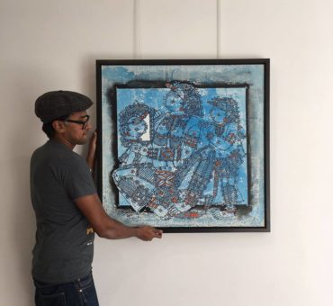 South Indian & Sri Lankan art at London based contemporary art exhibition