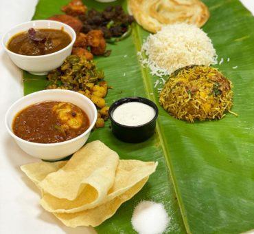 Tamil Nadu & regional Indian cuisine at the Grand Cholan, Docklands